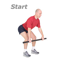 Thumb - Bent Over Row with Sissel Body Toning Bar