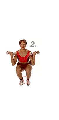 Image 2 - Biceps, Squat and Hip Abduction with Sissel Fitband