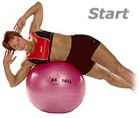 Image 1 - Lateral Flexion on Sissel Exercise Ball