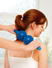 Image Spiky Twin Massage Roller