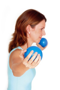 Pilates Toning Bolde